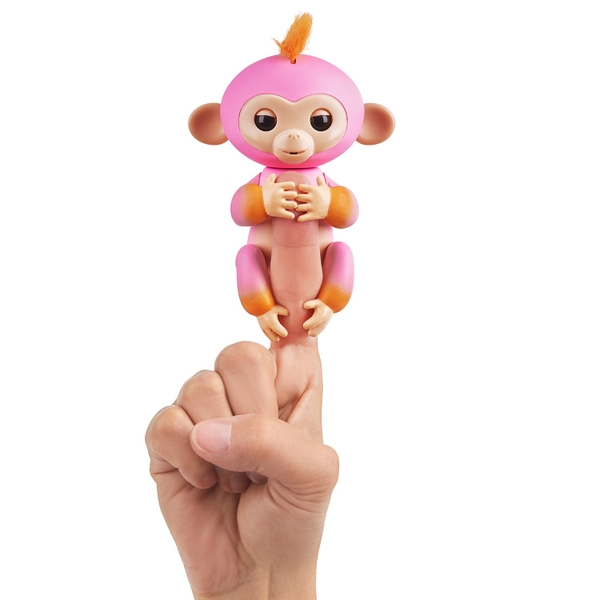 Fingerlings Baby Monkey - Summer (Pink with Orange accents)
