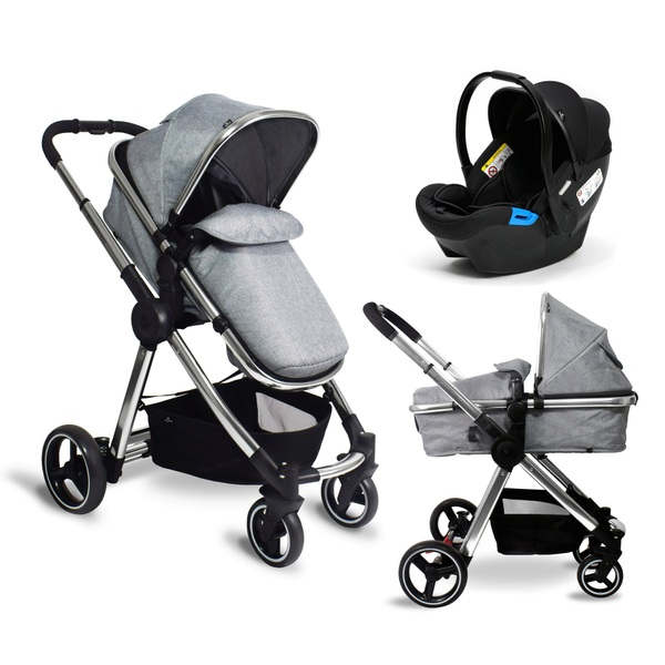 Babylo Panorama Travel System & Car Seat Grey