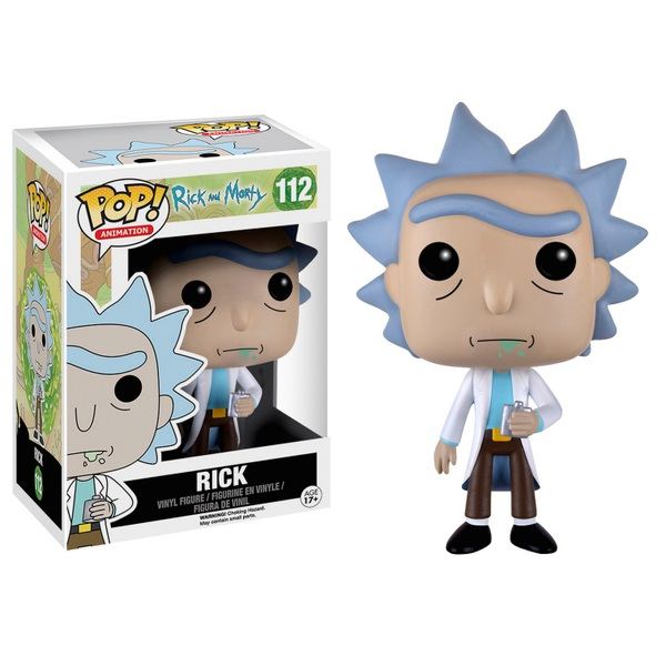 POP! Vinyl: Rick and Morty Rick Figure