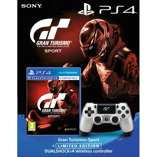 gran turismo sport limited edition dualshock 4 game bundle playstation 4 accessories uk. Black Bedroom Furniture Sets. Home Design Ideas