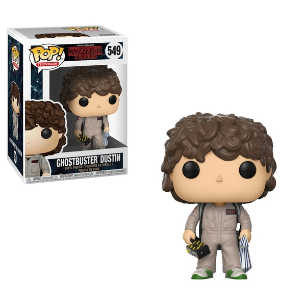 POP! Vinyl: Stranger Things Ghostbuster Dustin