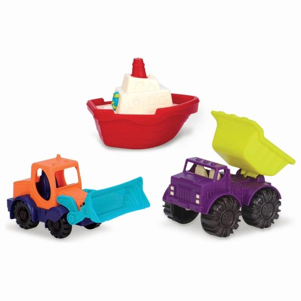 B. Mini Vehicles 3 Piece Set