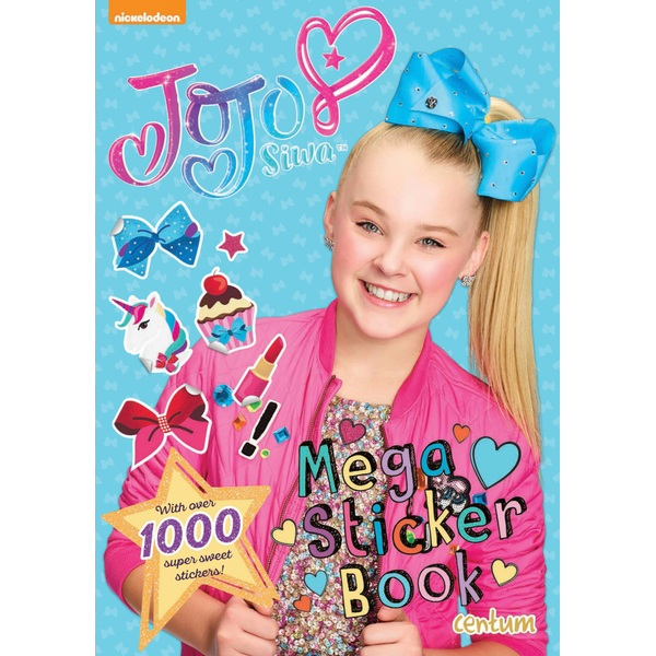 Jojo Mega Sticker Book Jo Jo Siwa Uk