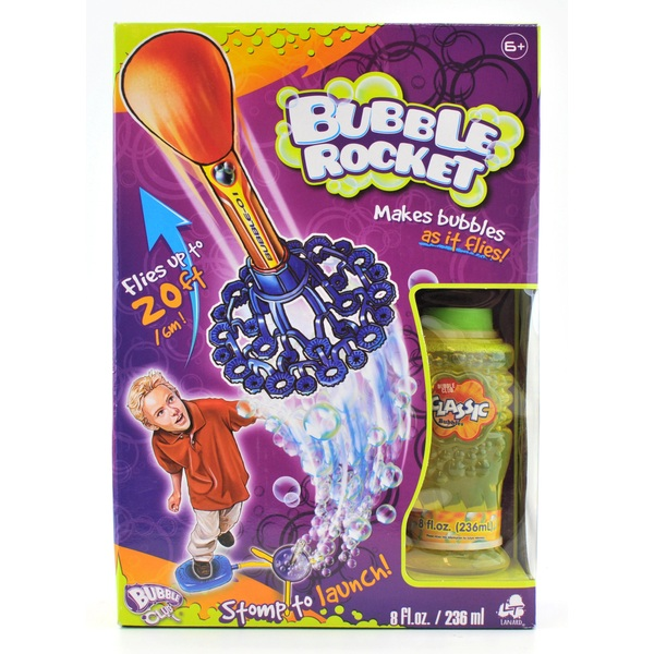 Bubble Rocket with 8 Oz bubble Solution