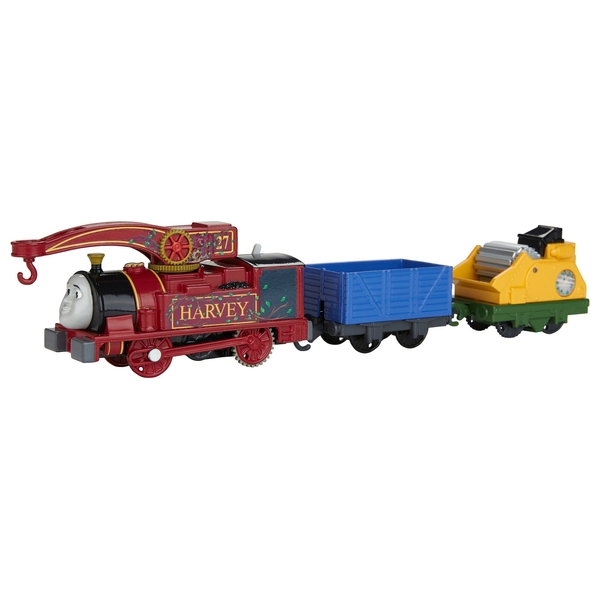 Thomas & Friends TrackMaster Helpful Harvey Toy Engine