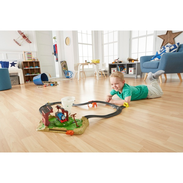 Thomas & Friends TrackMaster Twisting Tornado Train Set