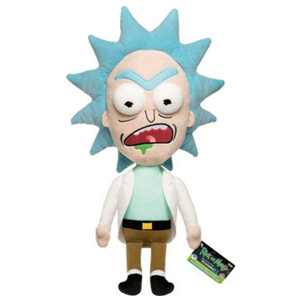 Galactic Plushies: Rick & Morty: 40 cm Worried Rick