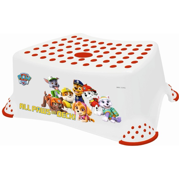 Nickelodeon PAW Patrol Step Stool – White and Red