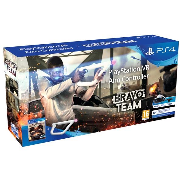 Bravo Team + Aim Controller Bundle PS4