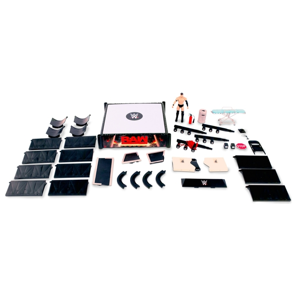 WWE Ringside Battle Playset with Finn Balor Figure - WWE Rings and Playsets  UK