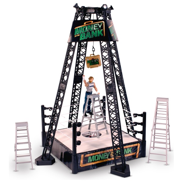 WWE Money In The Bank Playset with Dean Ambrose Figure