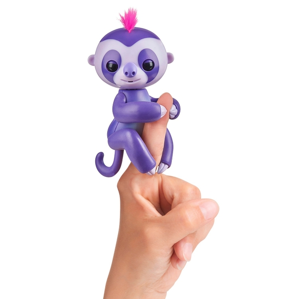 Fingerlings Baby Sloth Marge (Purple)