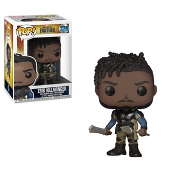 POP Vinyl: Black Panther Killmonger - Other Action Figures & Playsets UK