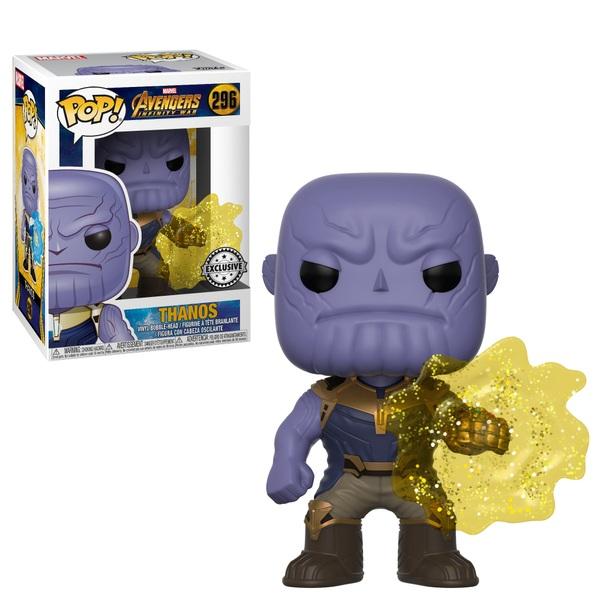 Pop Vinyl Exclusive Marvel Avengers Infinity War Thanos
