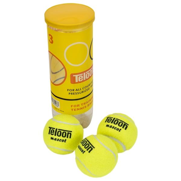 Teloon Mascot Tennis Balls 3 Pack
