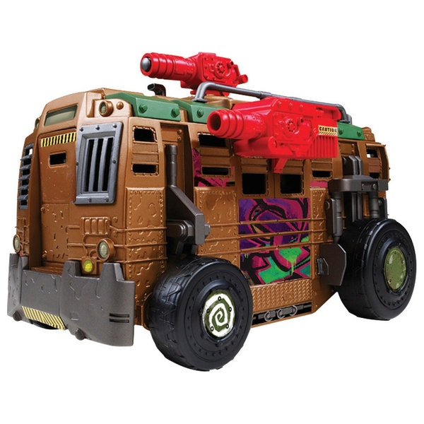 Teenage Mutant Ninja Turtles Shellraiser Street to Sewer Assault Vehicle with Figure