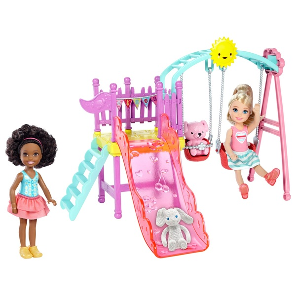 Barbie Chelsea Playset with 2 Dolls