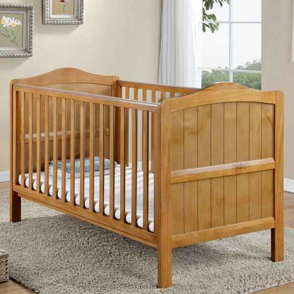 Nested Sorrento Cot Bed Natural