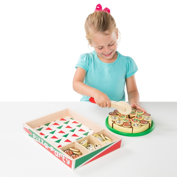 Melissa & Doug Wooden Pizza