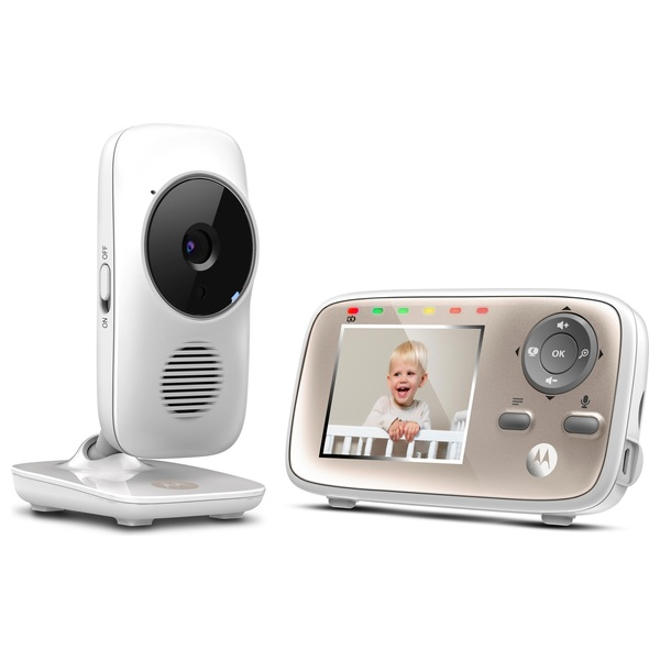 Motorola MBP667 Digital Video Baby Monitor