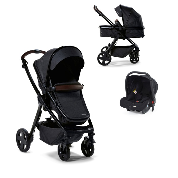 Baby Elegance Venti Travel System - Charcoal