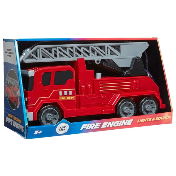 Die Cast Fire Engine with Lights and Sounds