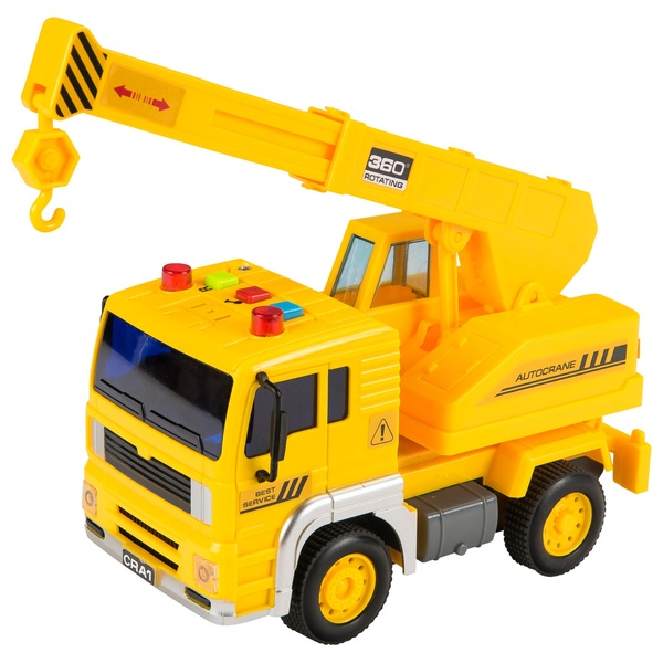 Light and Sounds Crane Truck - Small