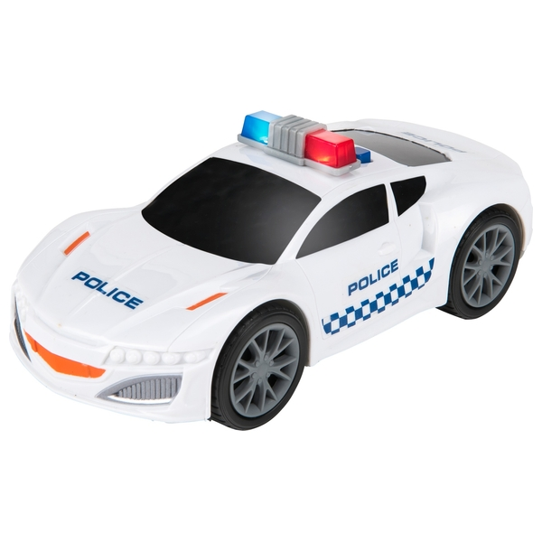 Lights and Sounds Police Car - Small - Great Value Toys! UK