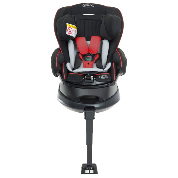 Graco Turn2Reach Group 0-1 Car Seat - Firey Red