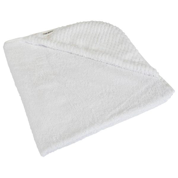 Clair de Lune Honeycomb Hooded Baby Towel