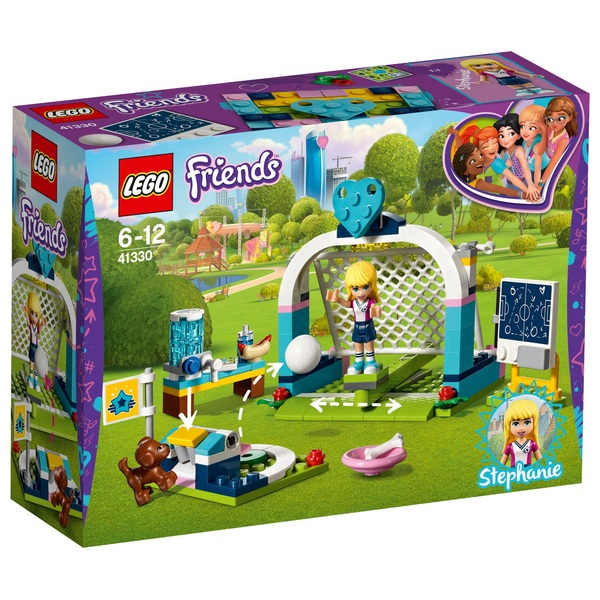 lego 41330 friends stephanie 39 s soccer practice lego friends uk. Black Bedroom Furniture Sets. Home Design Ideas