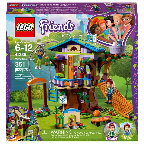 Lego Friends Christmas Sets.Lego 41335 Friends Heartlake Mia S Tree House Building Set Lego Friends Uk