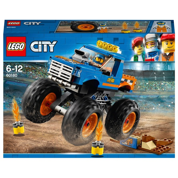 LEGO 60180 City Vehicles Monster Truck Toy Construction Set