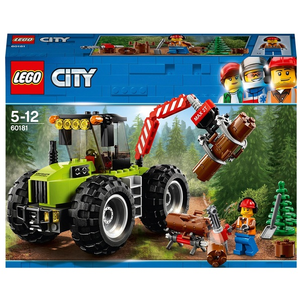 LEGO 60181 City Great Vehicles Forest Tractor Construction Toy