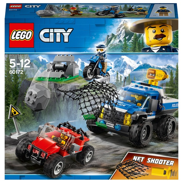 LEGO 60172 City Police Dirt Road Pursuit Toy Car