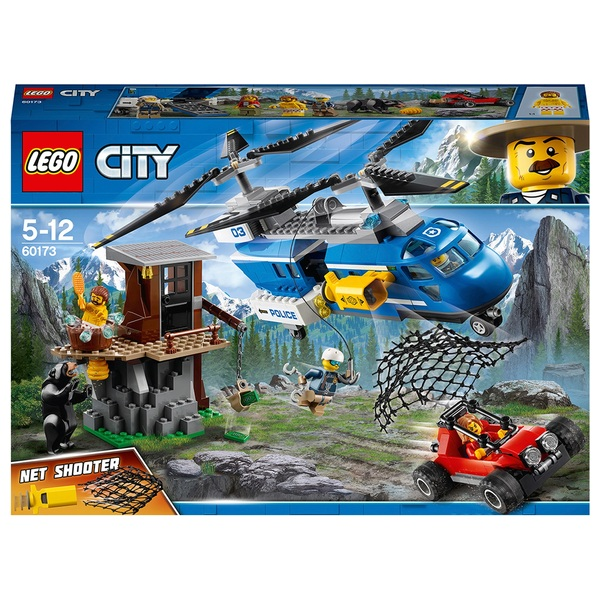 LEGO 60173 City Police Mountain Arrest Helicopter Toy