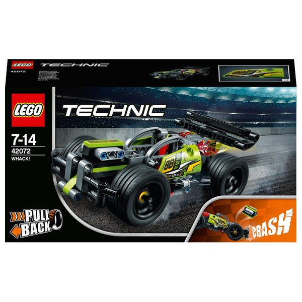 LEGO 42072 Technic WHACK! Racing Toy Car Construction Set