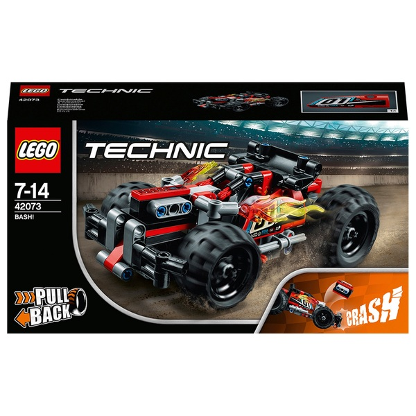 LEGO 42073 Technic BASH! Racing Toy Car Construction Set