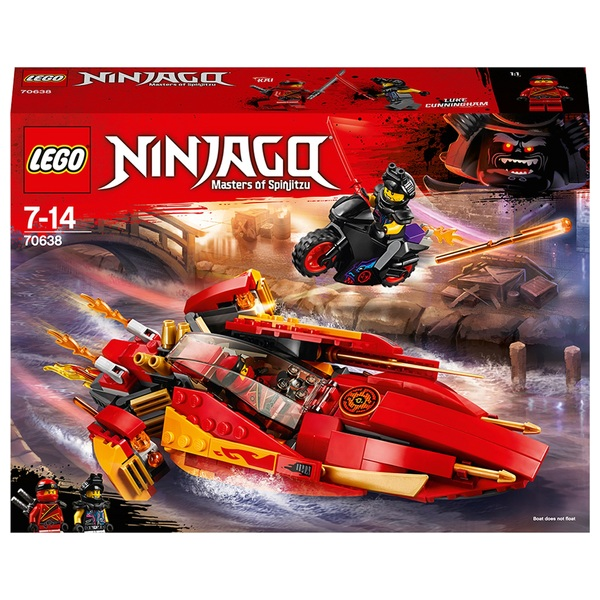 LEGO 70638 Ninjago Katana V11 Toy Boat and Bike Building Set