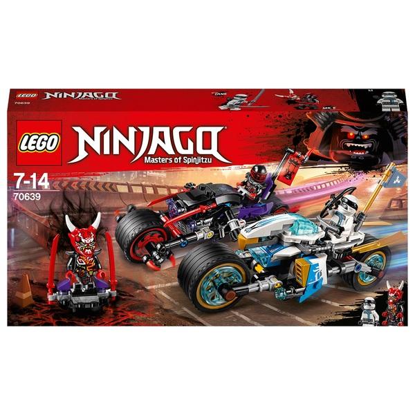LEGO 70639 Ninjago Street Race of Snake Jaguar Toy Bike Set