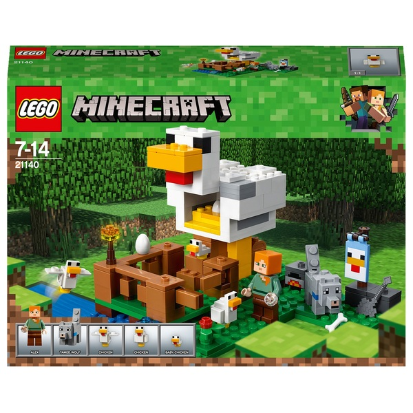 LEGO 21140 Minecraft The Chicken Coop Building Set