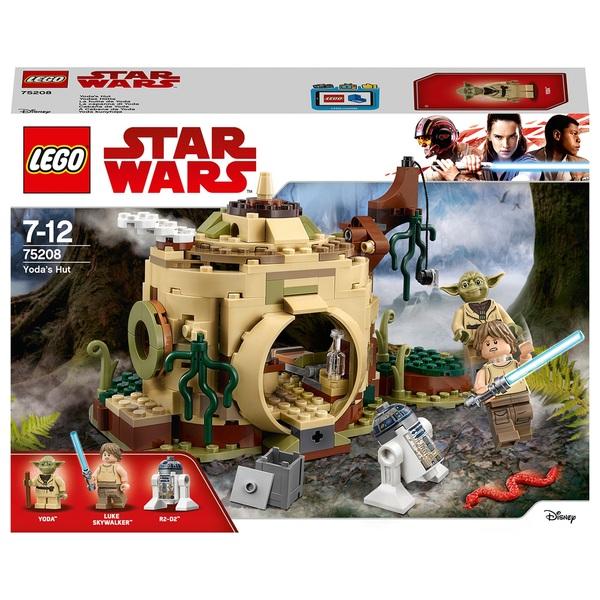 LEGO 75208 Star Wars Toy Yoda's Hut Toy Building Set
