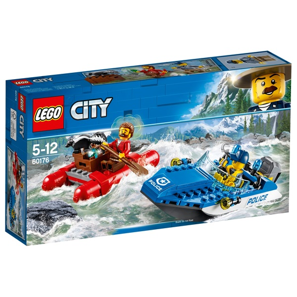 LEGO 60176 City Police Wild River Escape Toy Boat Building Set