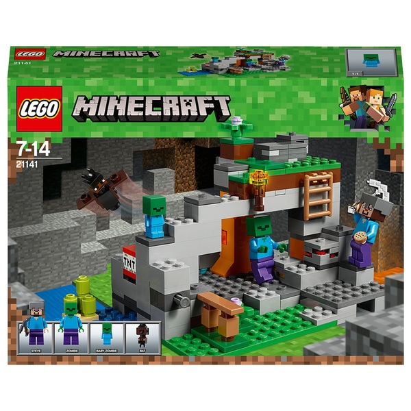LEGO 21141 Minecraft The Zombie Cave Building Set