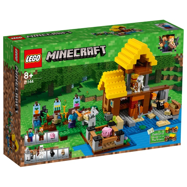 LEGO 21144 Minecraft The Farm Cottage Toy House Building Set