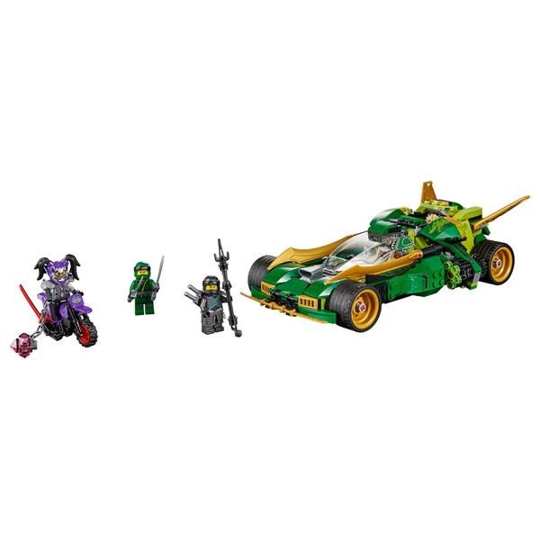 Lego 70641 Ninjago Ninja Nightcrawler Toy Car And Bike Set Lego