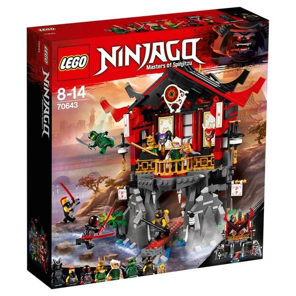 LEGO 70643 Ninjago Temple of Resurrection Ninja Toy