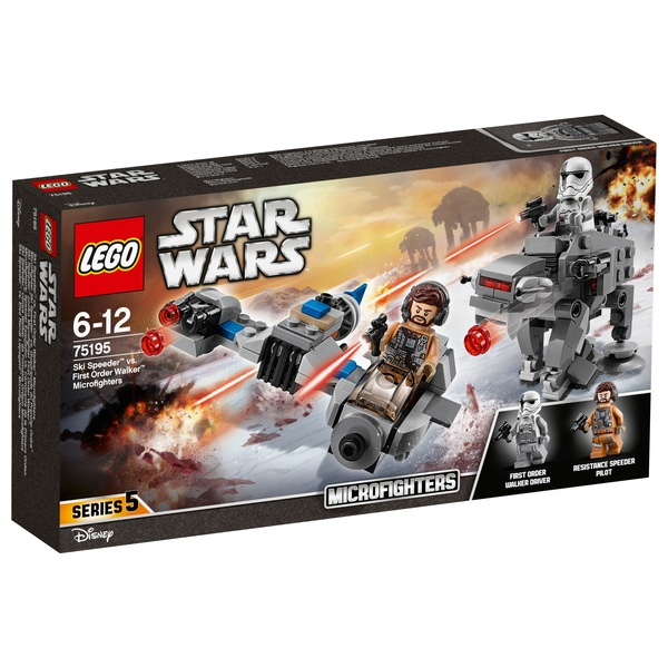 LEGO 75195 Star Wars Ski Speeder vs. Walker Microfighters Toy