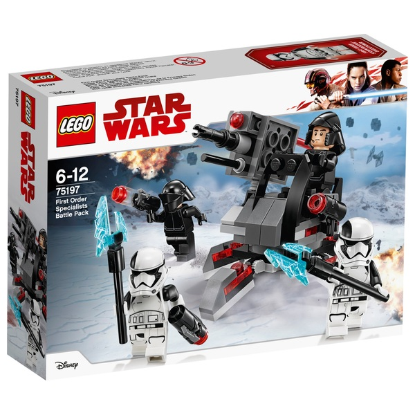 LEGO 75197 Star Wars First Order Specialists Battle Playset