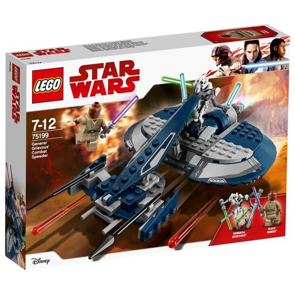 LEGO 75199 Star Wars General Grievous' Combat Speeder Toy